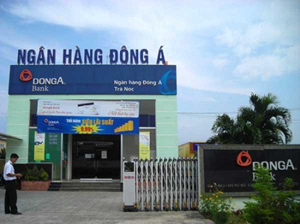 Một chi nhánh của ngân hàng Đông Á