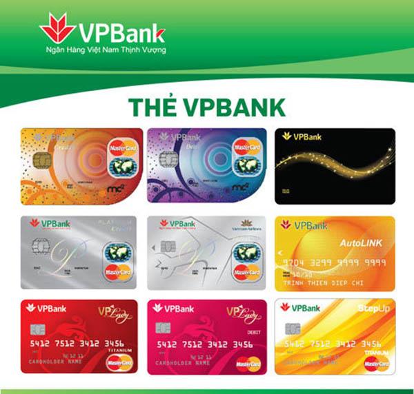 Đáo hẹn thẻ tín dụng ngân hàng VPbank