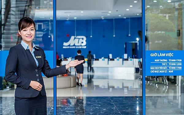 lãi suất vay đáo hạn ngân hàng MB Bank