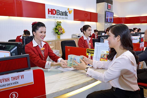 Lãi suất vay đáo hạn ngân hàng HDBank.