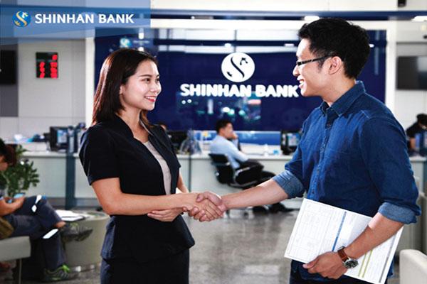 Thủ tục vay đáo hạn ngân hàng Shinhan Bank