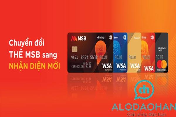 Đáo hạn thẻ tín dụng MSB nhanh chóng phí thấp