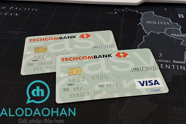 Đáo hạn thẻ tín dụng Techcombank phí rẻ